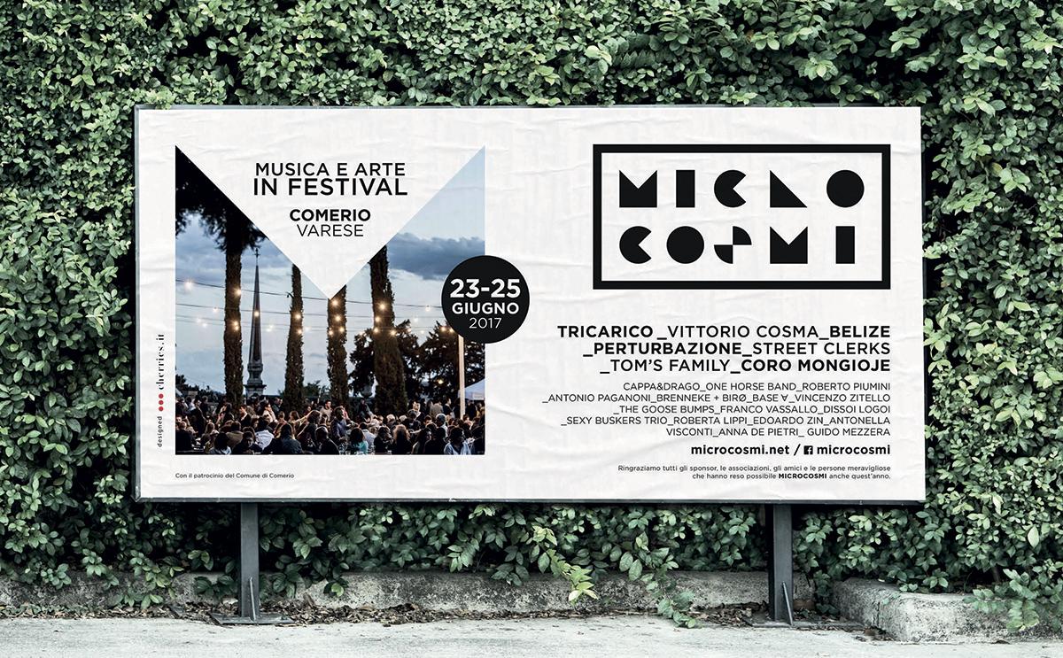 Microcosmi Festival - Affissioni